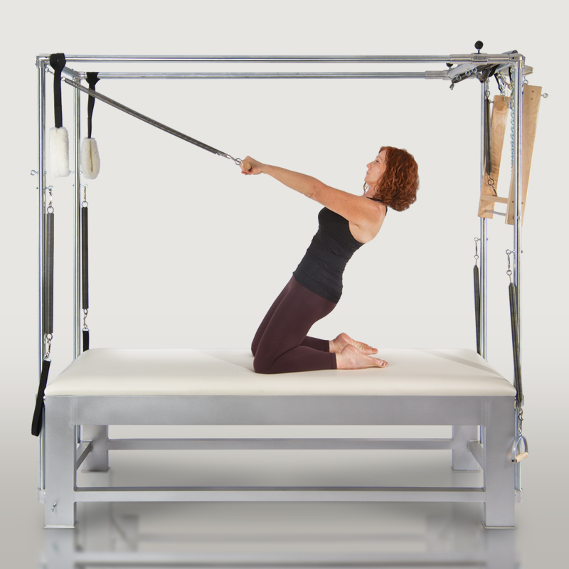 Pilates Bellevue - Thigh stretch on the Cadillac